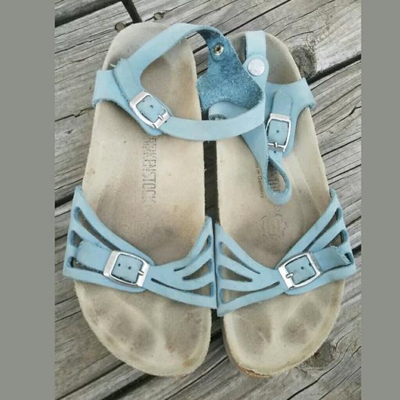 e447b2dd18e Birkenstock Shoes - Birkenstock granada Blue Sandal 38 7.5 8